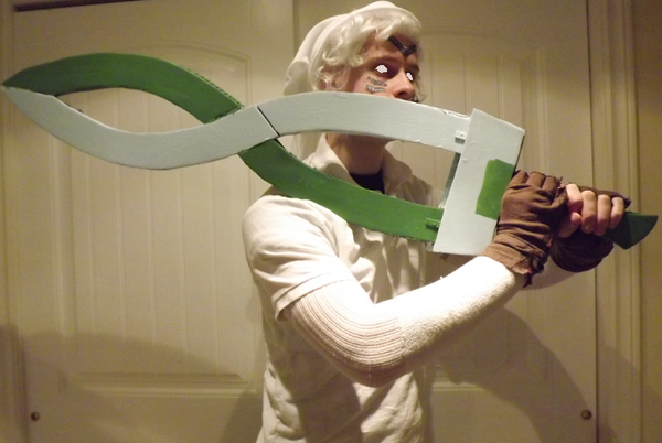 How to Make the Fierce Deity Sword