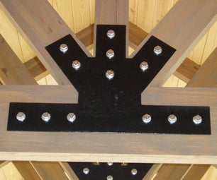 Enhance the Look of Wood Beam Construction