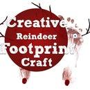 Creative Reindeer Footprint Craft In 8 Easy Steps!