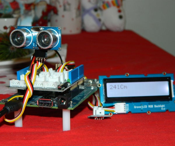Intel Edison: Distance Bug - HC-SR04