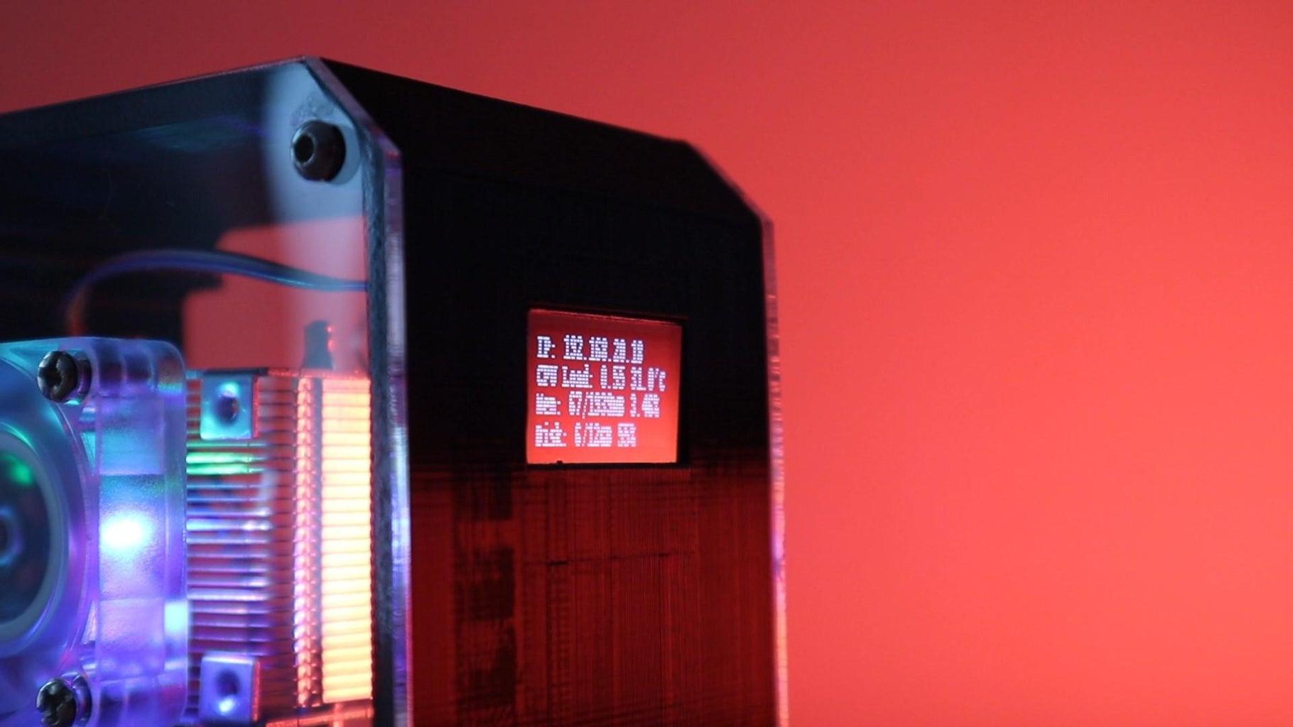 Program the OLED Display