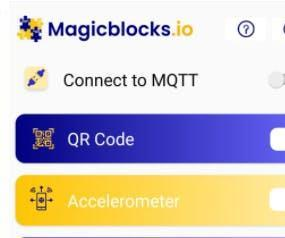 Send Data From Your Phone to Magicblocks