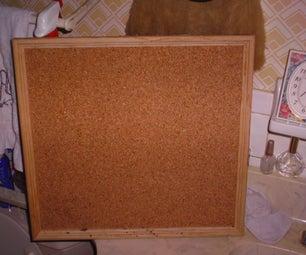 CorkBoard / Bulliten Board (How to Make)