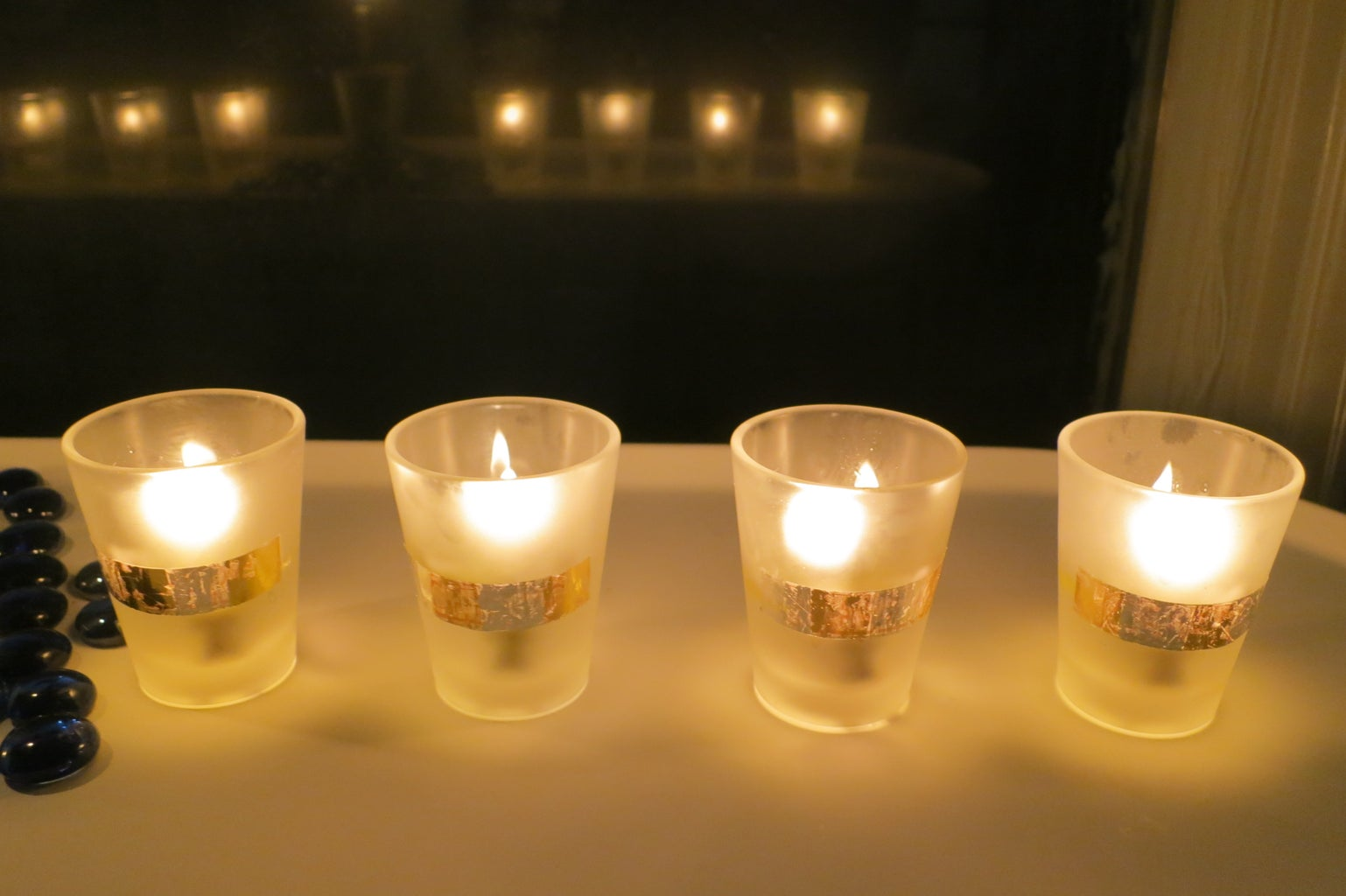 Upcycle Shot Glasses for an Oil Burning Candle