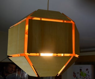 Wooden Ceiling Lamp