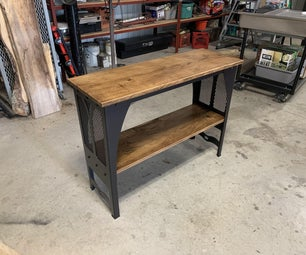 Industrial TV/Hall Table