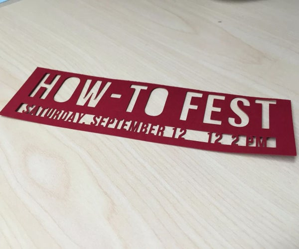 Cutout Bookmark