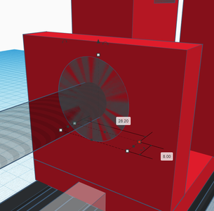 Design Process - Stationary Mount - Bearing Cutout