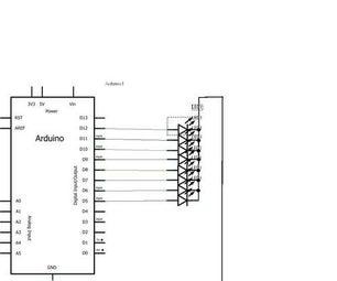 Arduino Running LEDs