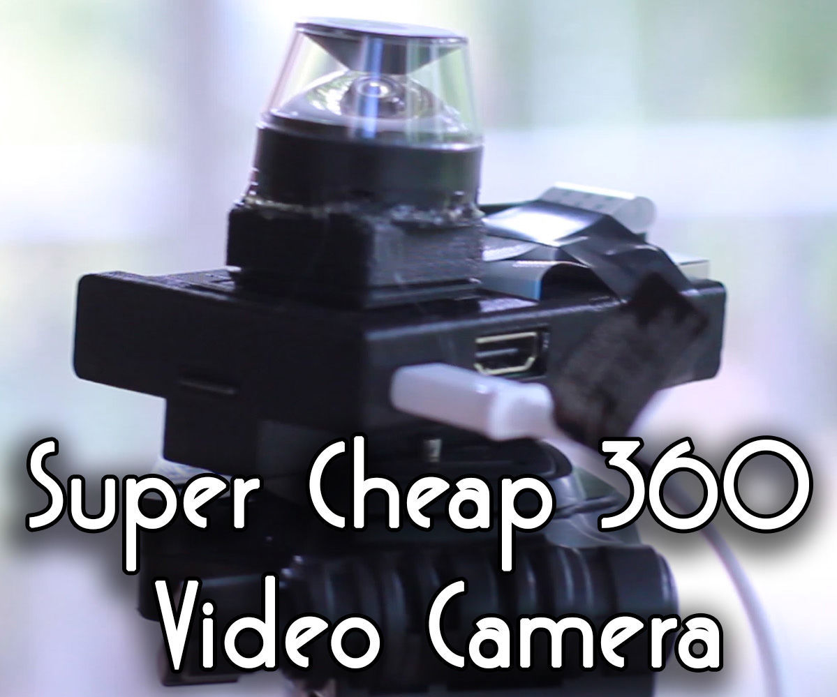 Uber Cheap 360 Video Camera