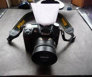 Printable Paper Pop-Up  Flash Diffuser/Reflector