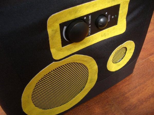 Cheap Speaker RuckSack Thats LOUD!