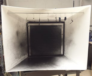 Folding Paint Booth