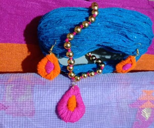 Fashion Accessories - Oyster Pouch, Pendant, Ear Hangings, Bead Jewellery