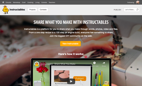 Start a New Instructable
