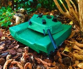 Paper Mache Tank