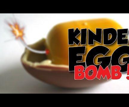 How to Make Kinder Surprise BOMB