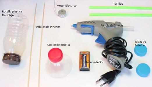 Carro Electrico Con Materiales Reciclajes.