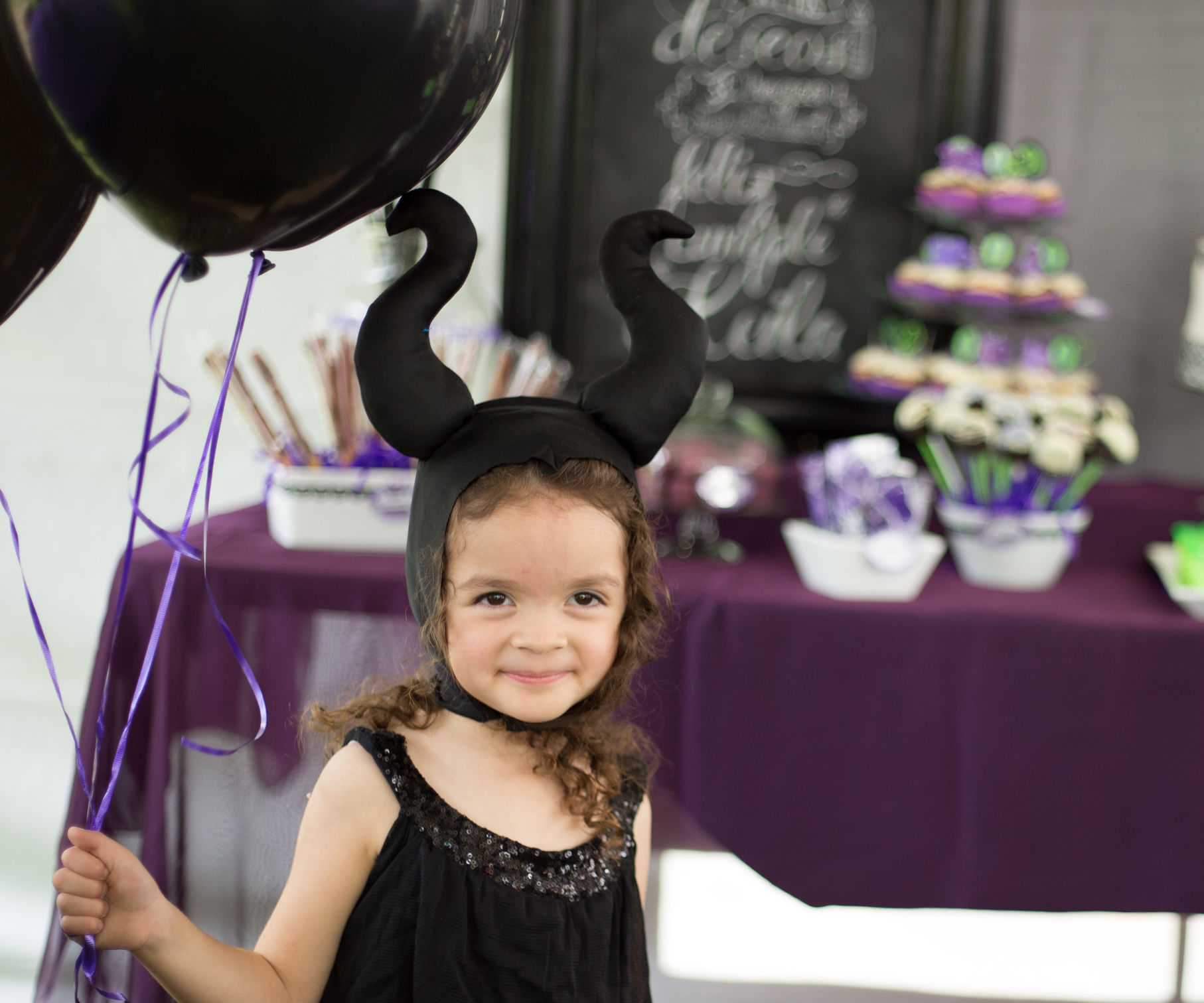 Comfortable Maleficent Headpiece