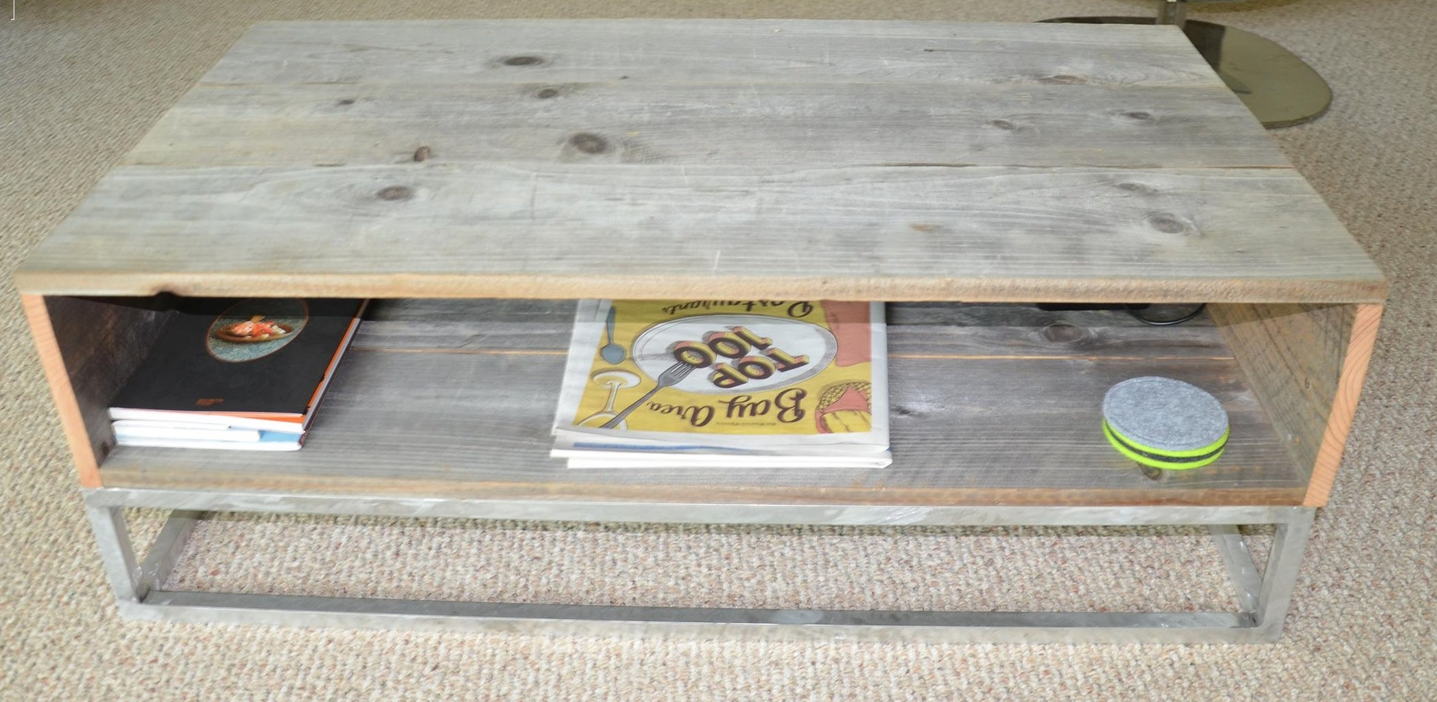 Coffee Table  With Reclaimed Wood