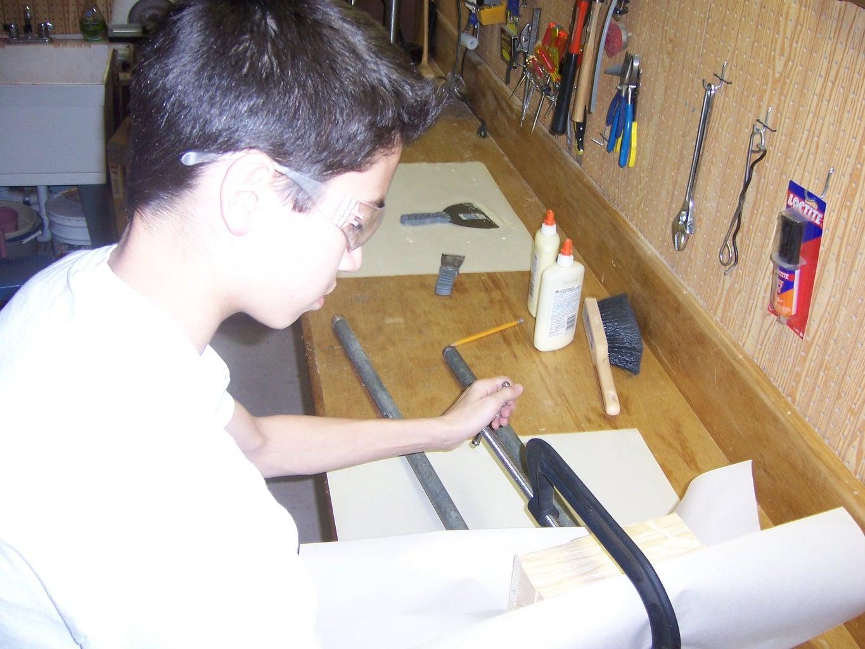 Glue the Wood