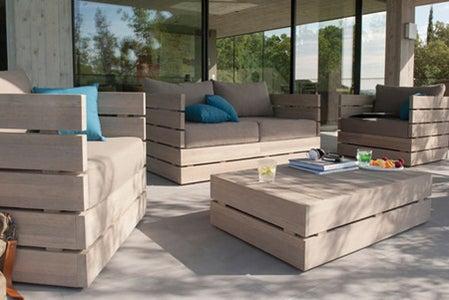 DIY Outdoor Garden Furniture