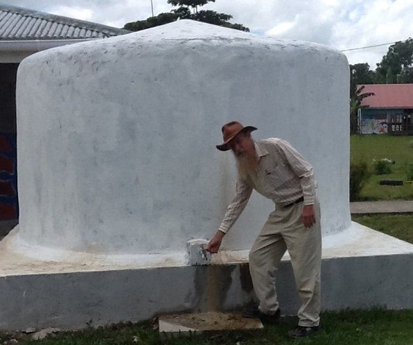 Earthbag Water Tanks