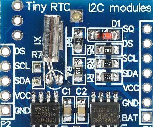 NODEMCU Lua ESP8266 With Real Time Clock (RTC)