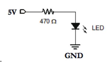 Connect the LED to Your Circuit