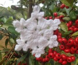 Simple Crochet Snowflake