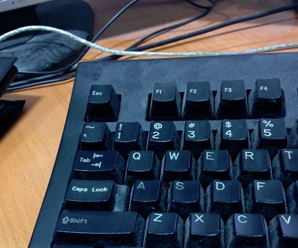 Clean a Very Used Keyboard