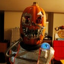 Mutant Cyborg Pumpkin Halloween Costume v1.3