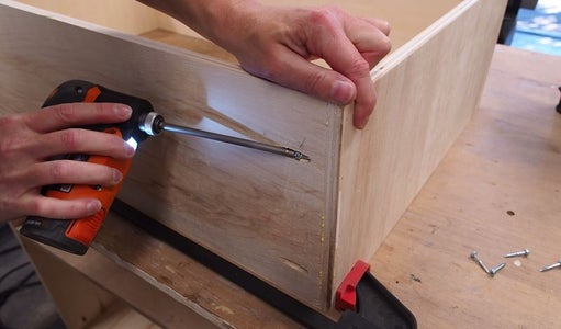 Make the Lower Drawers