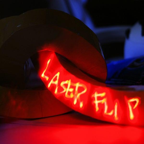 Laser Animation Flipbook