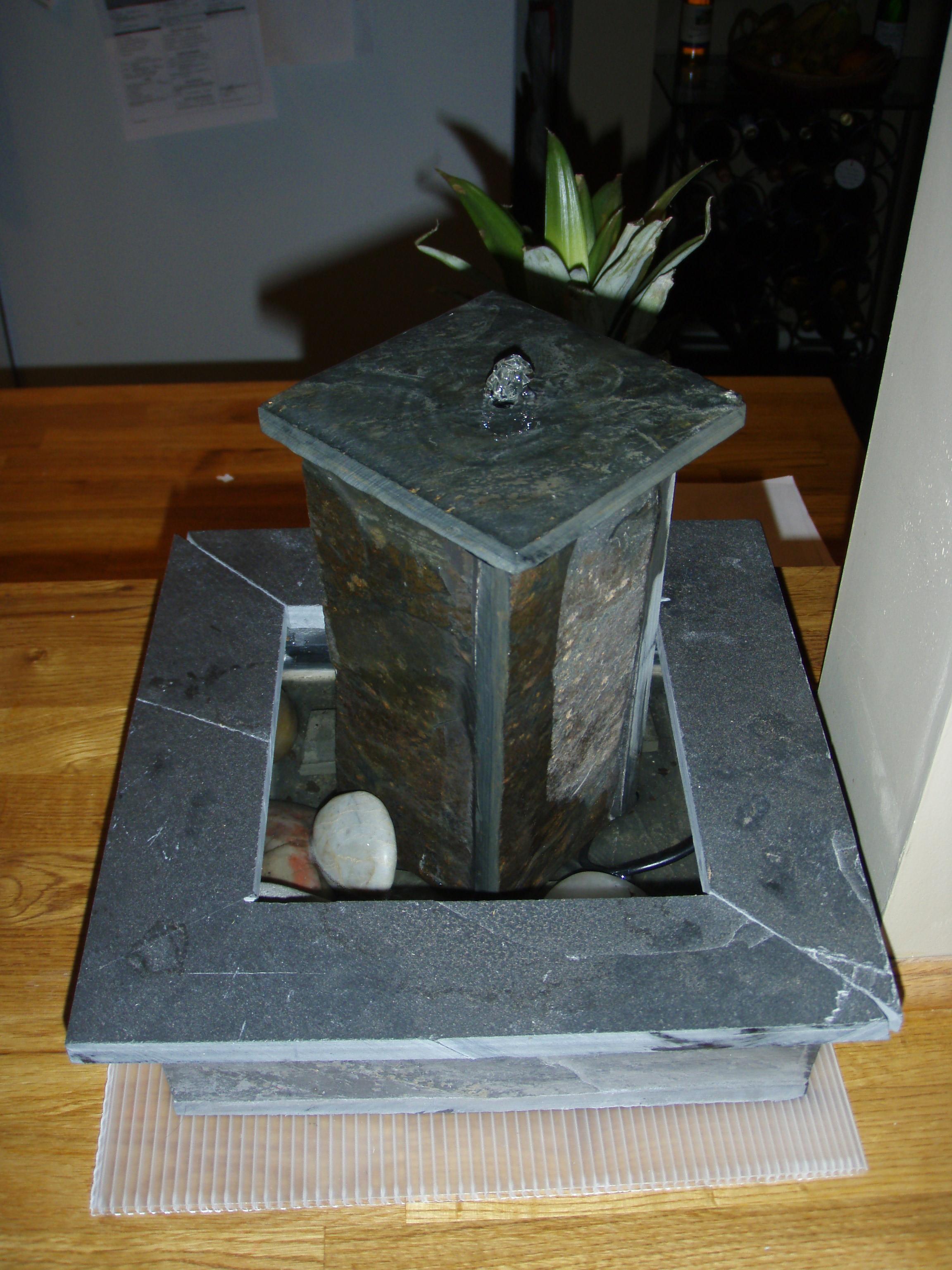 Slate tabletop Fountain