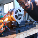 Converting Car Alternator Into a Permanent Magnet Brushless Motor