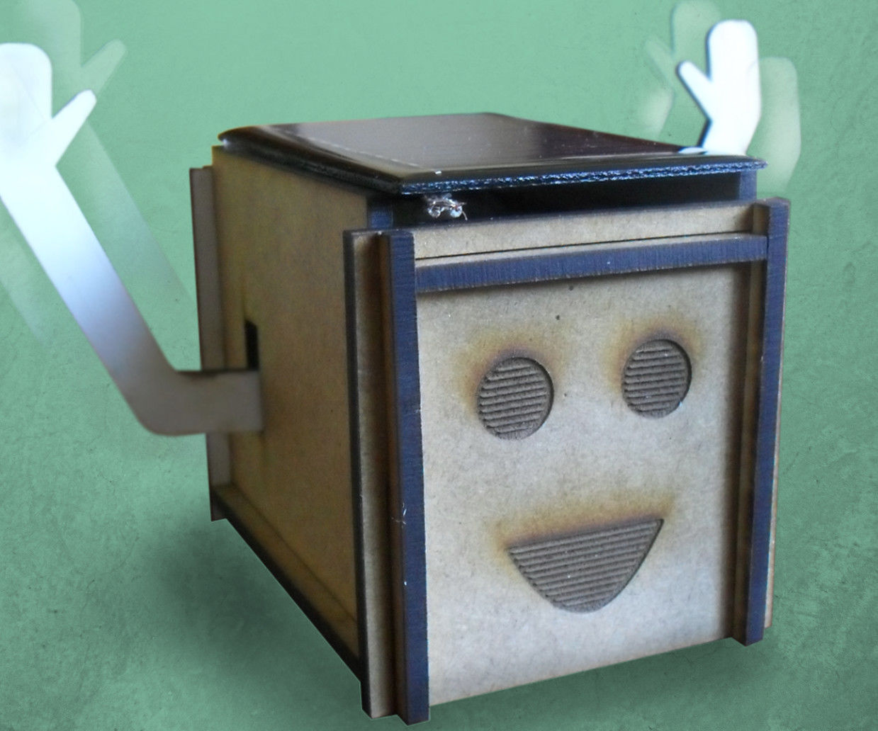 Happy Harry - A Happy Solar-powered Box!