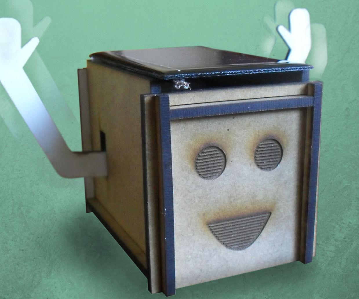 Happy Harry - A Happy Solar-powered Box!