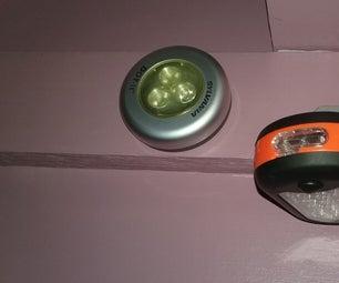 Better, Flexible Closet Touch Light