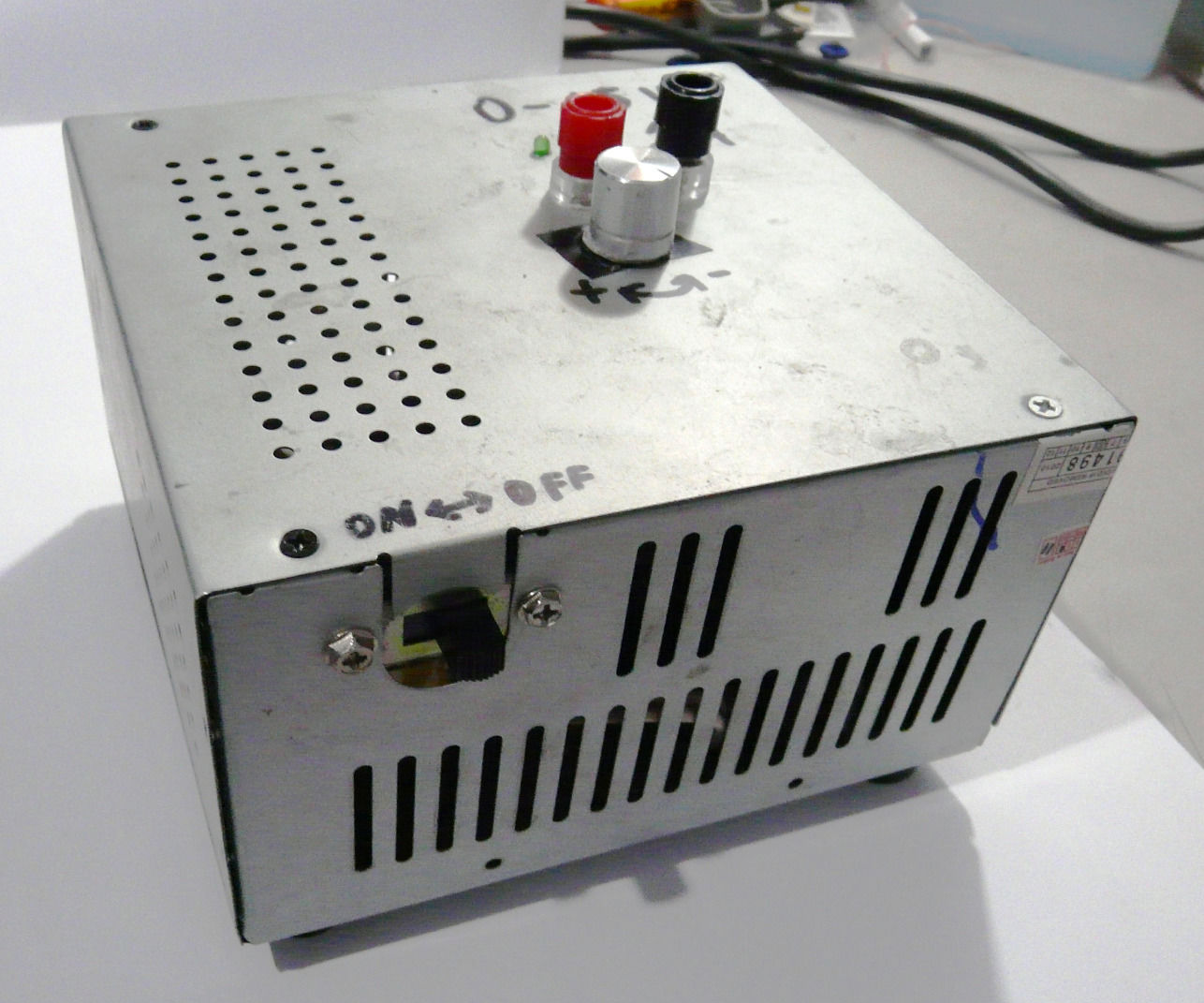0 - 12 V LM317 Power Supply