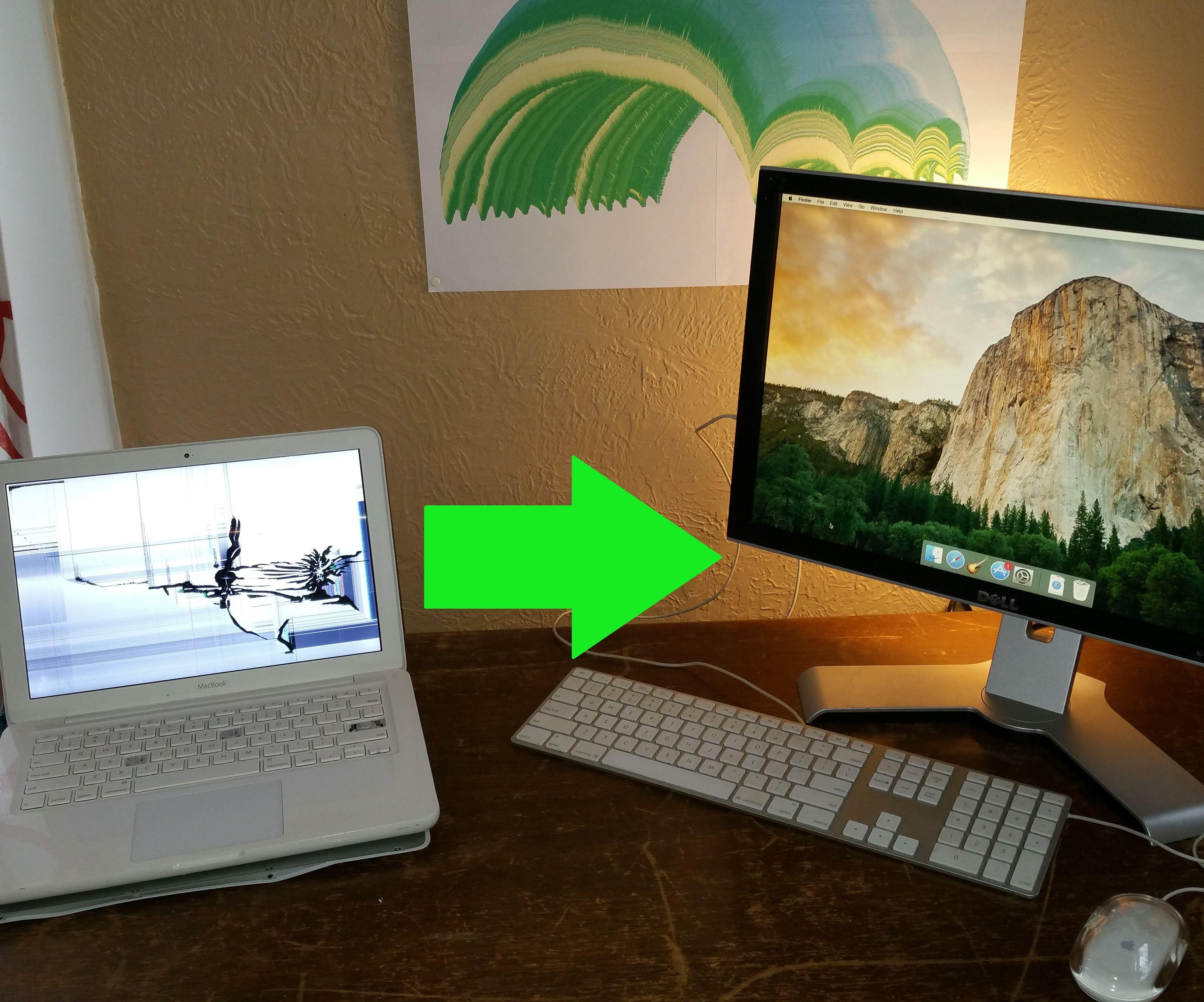 Broken MacBook to Awesome Desktop!