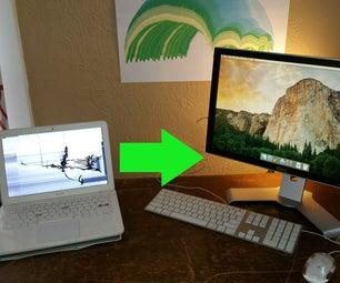 Broken MacBook to Desktop!