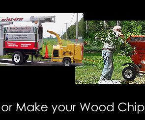 Get or Make Wood Chips Mulch