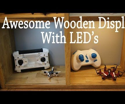 Awesome Wooden Furniture Display With LED's