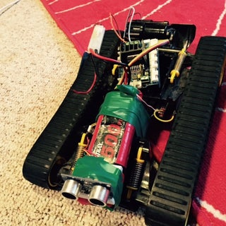RC Truck to Arduino Robot W/ Multiple Sensors