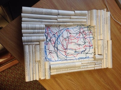 Paper Roll Frame