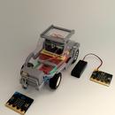 [2021] マイクロビット2個を使いラジコンカーを走らせよう!