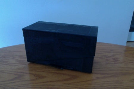 MAKE YOUR OWN PINHOLE (BLACK AND WHITE) CAMERA