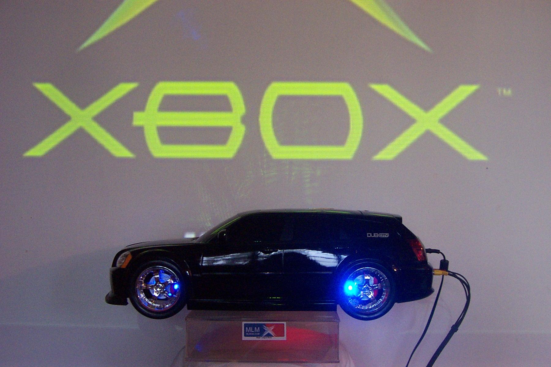 Transform your xbox into R/C car !!!!!