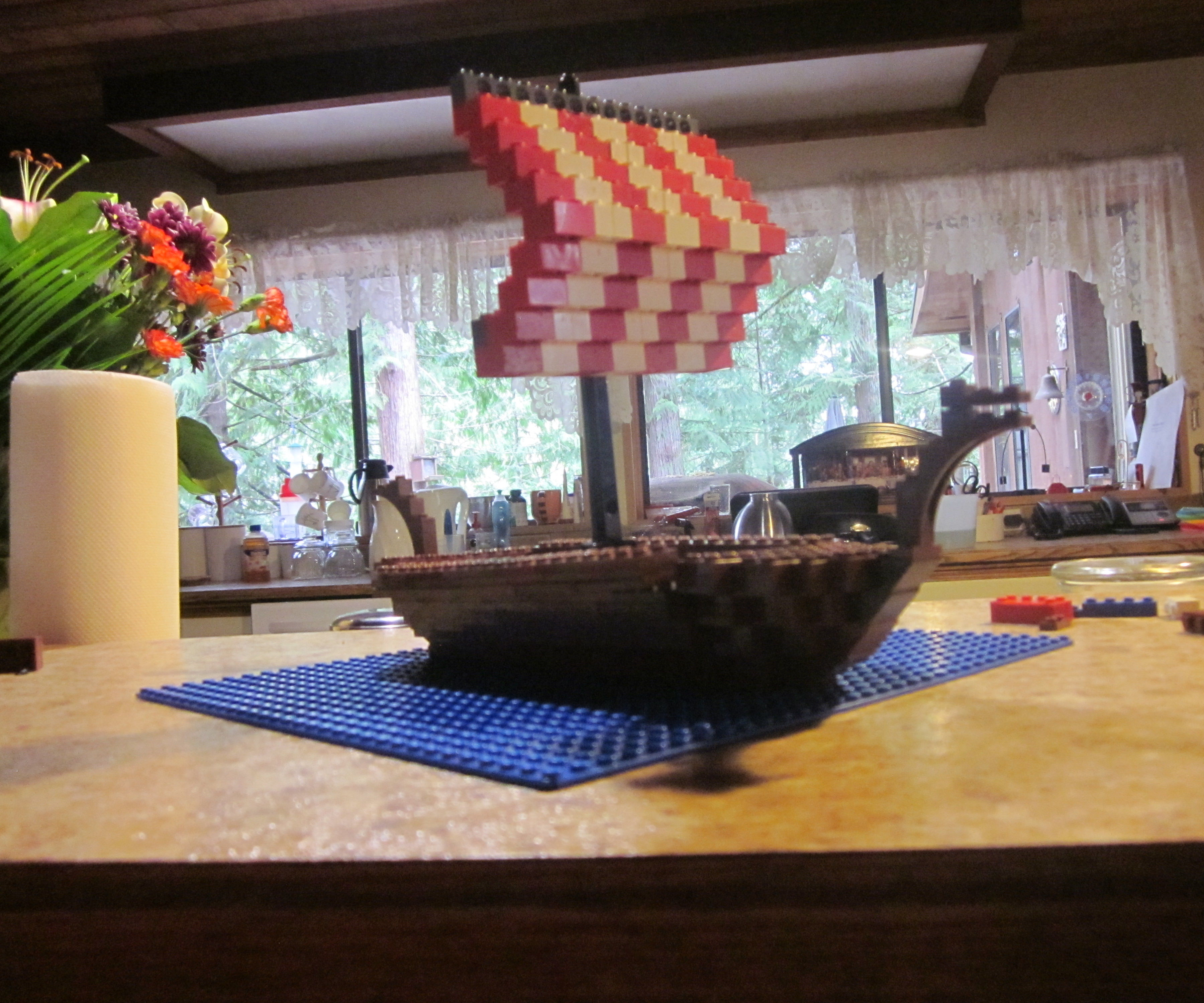 Lego Viking Ship